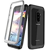 Samsung Galaxy S9+ Plus Case, Singdo Full-body Protection Rugged Clear Bumper Case With Built-in Screen Protector for Samsung Galaxy S9+ Plus