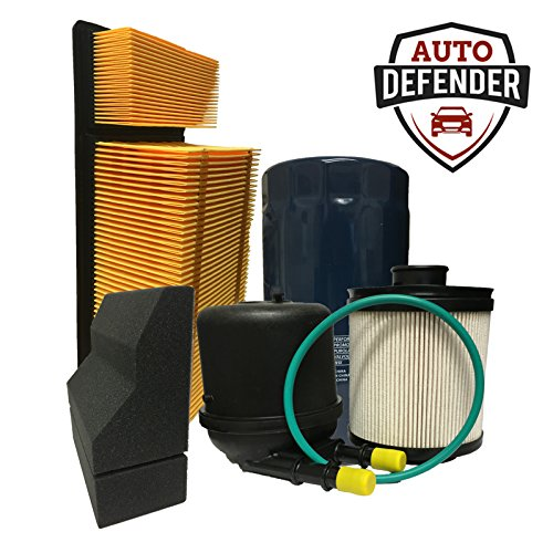 Auto Defender PA6109 PA1907 DF4615 PG6128-AD Air, Fuel, Oil Filter Kit for 6.7L Diesel Engines