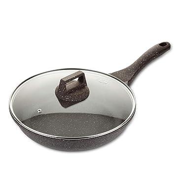 JANSUDYSartenes Para El Hogar Sartenes Antiadherentes Se Pueden Usar Para Estufas De Gas/Cocinas De InduccióN: Amazon.es: Hogar