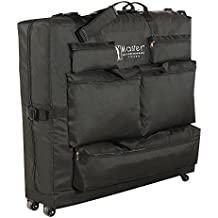 "Master Massage Universal Wheeled Massage Table Carry Case,""bag"" for Massage Table,Black"
