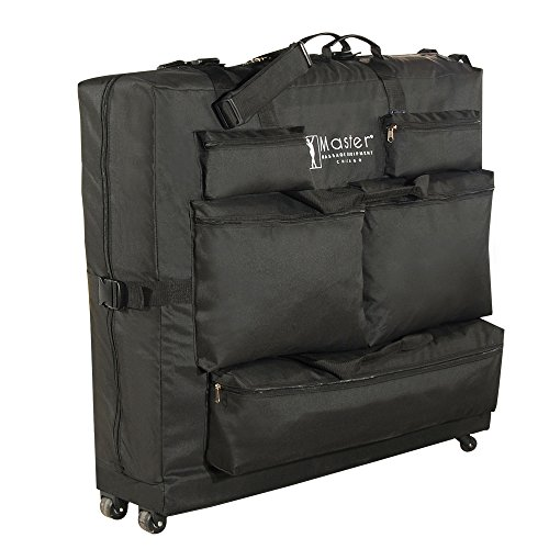 Master Massage Universal Wheeled Massage Table Carry Case,'bag' for Massage Table,Black