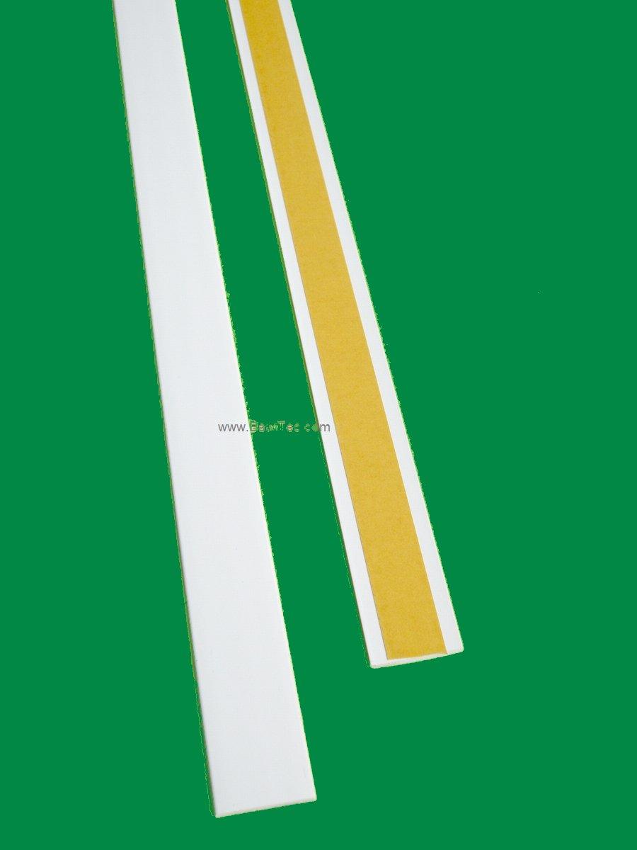 Top BawiTec PVC-Kunststoffleiste Abdeckleiste selbstklebend 30mm 600cm  EH41