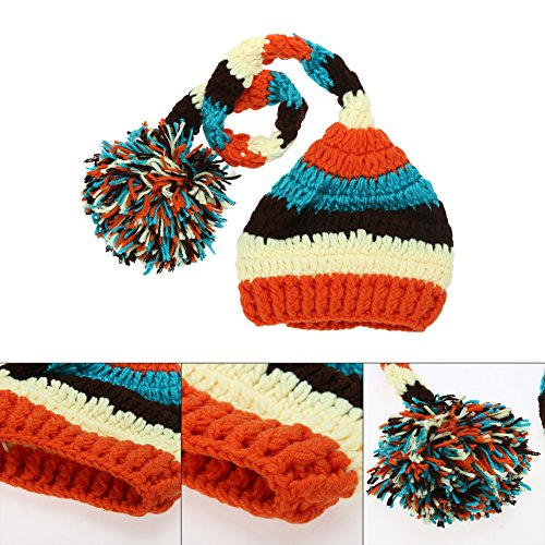cheap Everpert Newborn Baby Infant Winter Crochet Knit Hat Beanie Cap Photography Prop save more