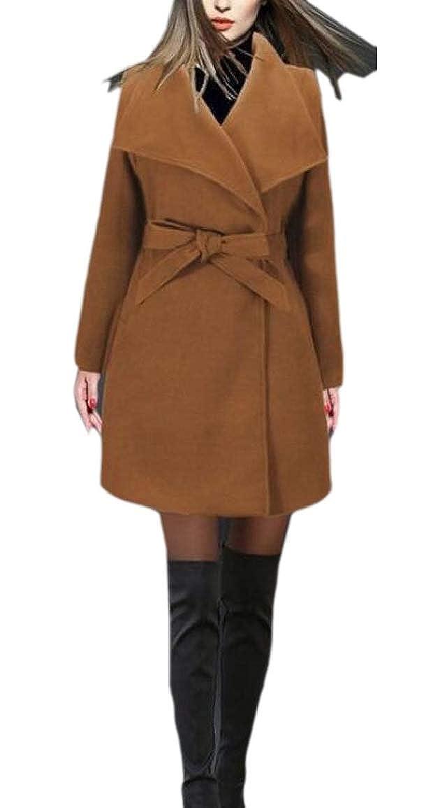 1 LKCENCA Women's Autumn Jacket Wool Blend Classics Winter Overcoat