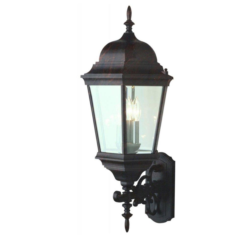 Trans Globe Lighting 51000 Bk Outdoor Classical 29 5 Wall Lantern Black Wall Porch Lights Amazon Com