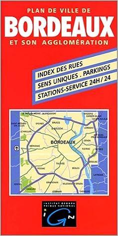 Livres audio téléchargeables gratuits pour ipod Plan de ville : Bordeaux, plan avec livret