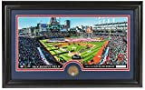MLB Cleveland Indians Infield Dirt Coin Panoramic Photo Mint