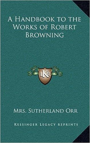 Lue uusia kirjoja verkossa ilmaiseksi ilman latausta A Handbook to the Works of Robert Browning CHM 1163343412