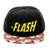 Bioworld Official Snapback- DC Comics Flash Halftone Snapback Hat One Size