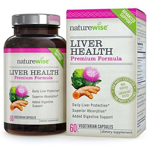 NatureWise Liver Health Premium Formula w/ Milk Thistle
