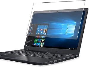 Puccy Tempered Glass Screen Protector Film, compatible with Acer ASPIRE E5-521 / E5-521G / E5-522 / E5-522G / E5-523 / E5-523G 15.6