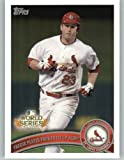 2011 Topps Baseball Card World Series Team Set Card #WS21 NLDS Game 4 Highlight - David Freese - St. Louis Cardinals - MLB Trading Card