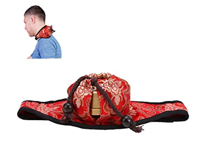 Caja de moxibustión, Moxa portátil Cobre Moxa Punto de acupuntura Terapia de estimulación Tratamiento Cojín