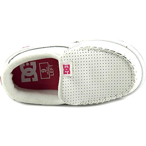 DC Shoes DC SHOES Factor White Grey - Zapatillas de piel de cerdo para hombre multicolor White Grey