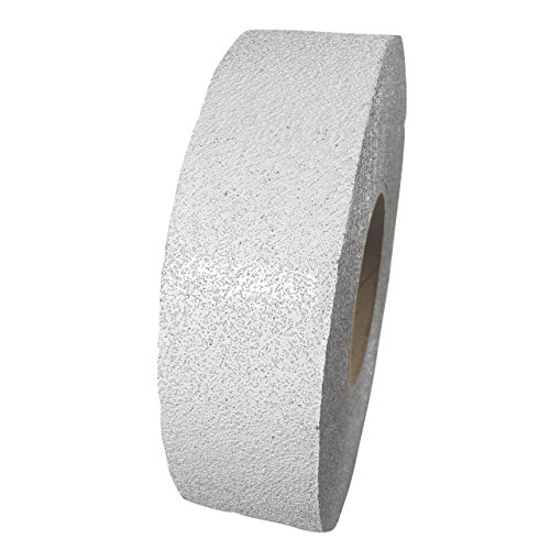ifloortape White Reflective Outdoor Basketball Court Marking Tape with Reflective Surface for Asphalt and Concrete 4 Inch x 150 Foot (1 Roll) by ifloortape (Image #1)