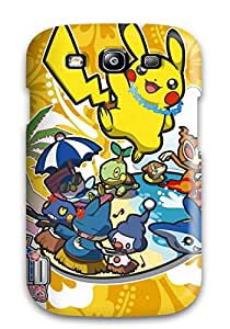Sanp On Case Cover Protector For Galaxy S3 (pokemon)