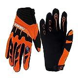 Gtopart breathable 50g children summer bicycle gloves, skate board gloves, roller skate gloves, Orange