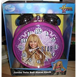 10 Hannah Montana Jumbo Twin bell Alarm Clock