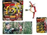 zing air target - Air Hunterz Zano Bow -include 1 Zono bow, 5 x arrows and 1 target 30 ft / age 4 and up