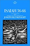 img - for Isaiah 56-66: A New Translation with Introduction and Commentary (Anchor Bible) book / textbook / text book