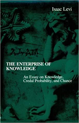 The Enterprise Of Knowledge An Essay On Knowledge Credal  The Enterprise Of Knowledge An Essay On Knowledge Credal Probability And  Chance Isaac Levi  Amazoncom Books