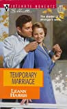 Temporary Marriage, Leann Harris, 0373078218
