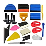 pro window tint tool kit - CARLAS Economy Combo Pro Tool kit Car Vinyl Wrap Squeegee Tools