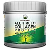 ALL 5 MULTI Collagen Protein Powder / Peptides By Peak Performance. Multi-Collagen Contains