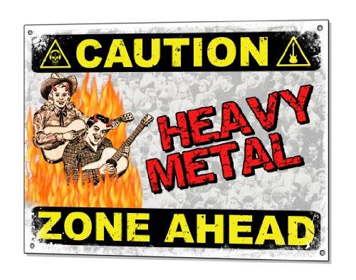 Heavy Aluminum Wall Plaque - 5