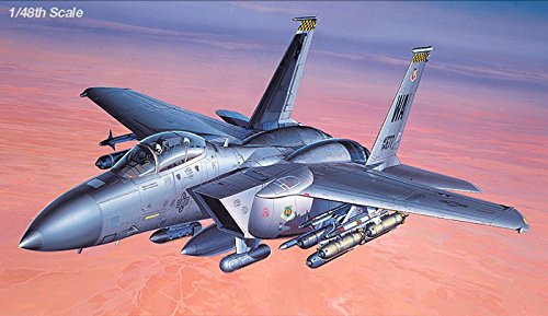 1/48 F-15E Strike Eagle With Weapon 12264 - Plastic model kit - Free Ship by Pantos Express (approx 7 ~ 15 Business Days)
