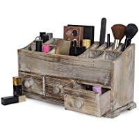 Vanity Drawer Beauty Organizer 3 Drawers - Wooden...