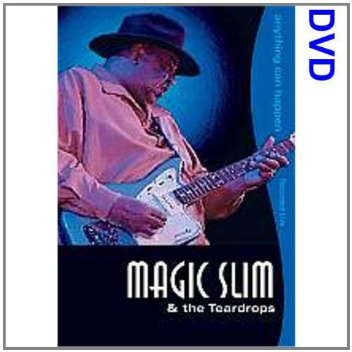 Magic Slim & The Teardrops - Anything Can - English Dvd Magic