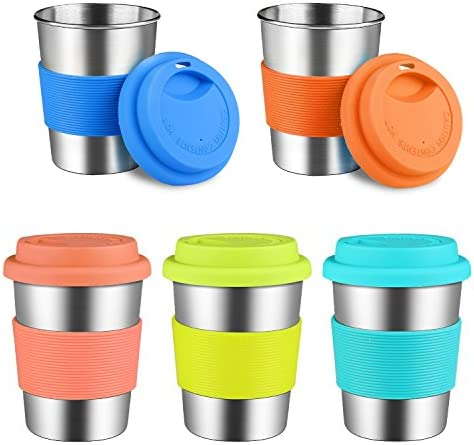 Stainless Silicone Drinking Tumblers Eco Friendly product image
