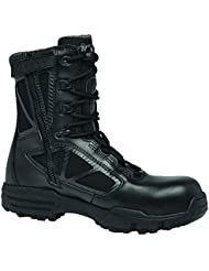 Tactical Research Belleville 998ZWPCT TR Chrome 8 Composite Toe Side Zip Waterproof Black Boot