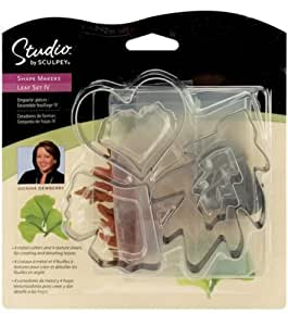 Sculpey Shape Makers -Leaf Set IV