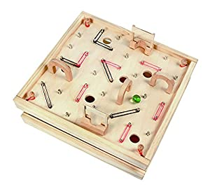 Exceptionnel Wooden Table Top Games Amazon Carpenter Tabletop Wood Labyrinth Retro Maze  Game With 8