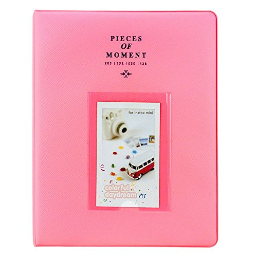 Photo Album for Fuji Instax Prints Holds 128 Photos Pink XTFA128PK - Brand New!!