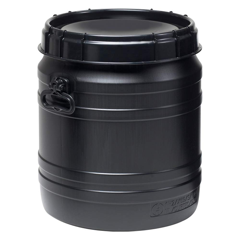 14.5 Gallon Total Opening Drum w/Hand Grip and Lid
