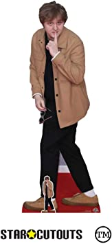 Black Outfit Life Size Cutout Lewis Capaldi