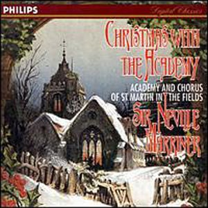 Image result for christmas with the academy sir neville marriner amazon