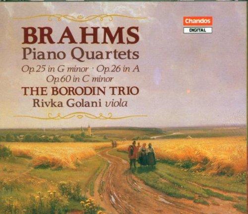 - Brahms: Piano Quartets, Op. 25 in G Minor / Op. 26 in A / Op. 60 in C Minor