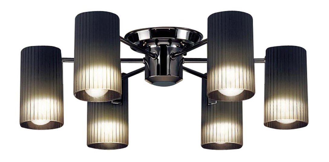 Panasonic LED シャンデリア 天井直付型 40形 ×6 電球色 LGB57651K B01N24Z4R3