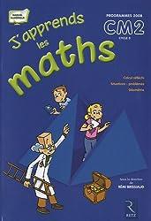 J'apprends maths CM2 Programmes 2008 : Pack en 2 volumes : Le manuel et le fichier d'activités