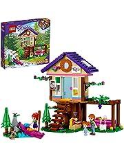 LEGO 41679 Friends Boshuis Set met Mia, Boomhut, Huis met Wasbeer Dierfiguur, Speelgoed Voor Kinderen van 6 Jaar en Ouder