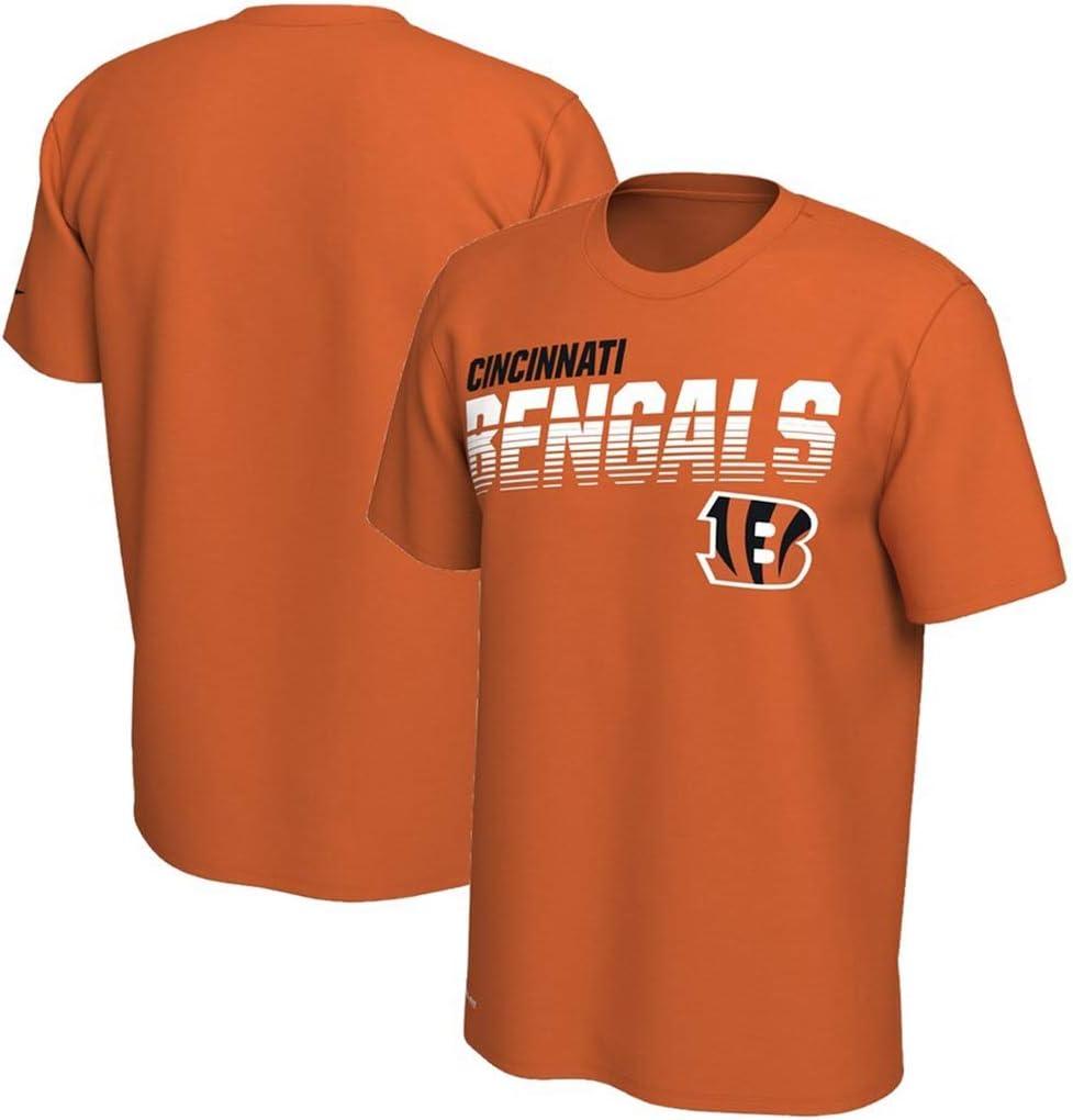 HYYSH Cincinnati Bengal Tigers Rugby Sportswear Print Camiseta de Manga Corta con Estampado de Letras Loose New Hombre Tops (Color : D, Size : XL): Amazon.es: Hogar