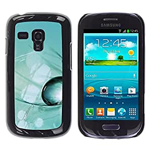 LECELL -- Funda protectora / Cubierta / Piel For Samsung Galaxy S3 MINI NOT REGULAR! I8190 I8190N -- Plant Nature Forrest Flower 48 --