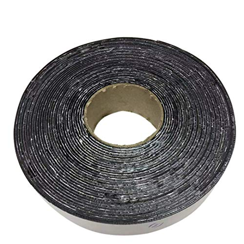 "EWT Asphalt Tarmac Parking lot Joint and Crack Sealer Repair Filler Tape 1"" ~ 4"" Wide & 50 FT Long (2 inchs)"