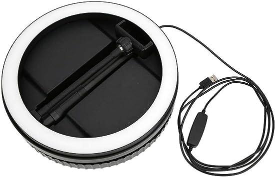 Manicure,Video Studio Beauty G1 3500K-6000K USB Power Folding Fill Light Portable 160 LED Lamp Chip for Live Mugast Ring Fill Light