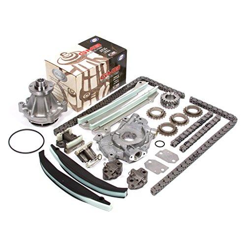 99-04 Lincoln Blackwood, Navigator 5.4 DOHC 32V Intech VIN A, R Timing Chain Kit Oil Pump GMB Water Pump