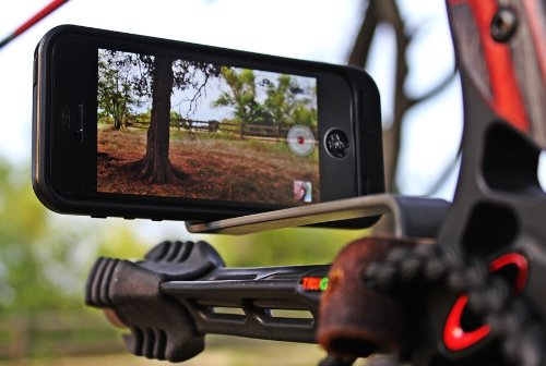 Smartphone-Camera-Bow-Phone-Mount-for-Use-with-Iphonesamsunggopro-and-More